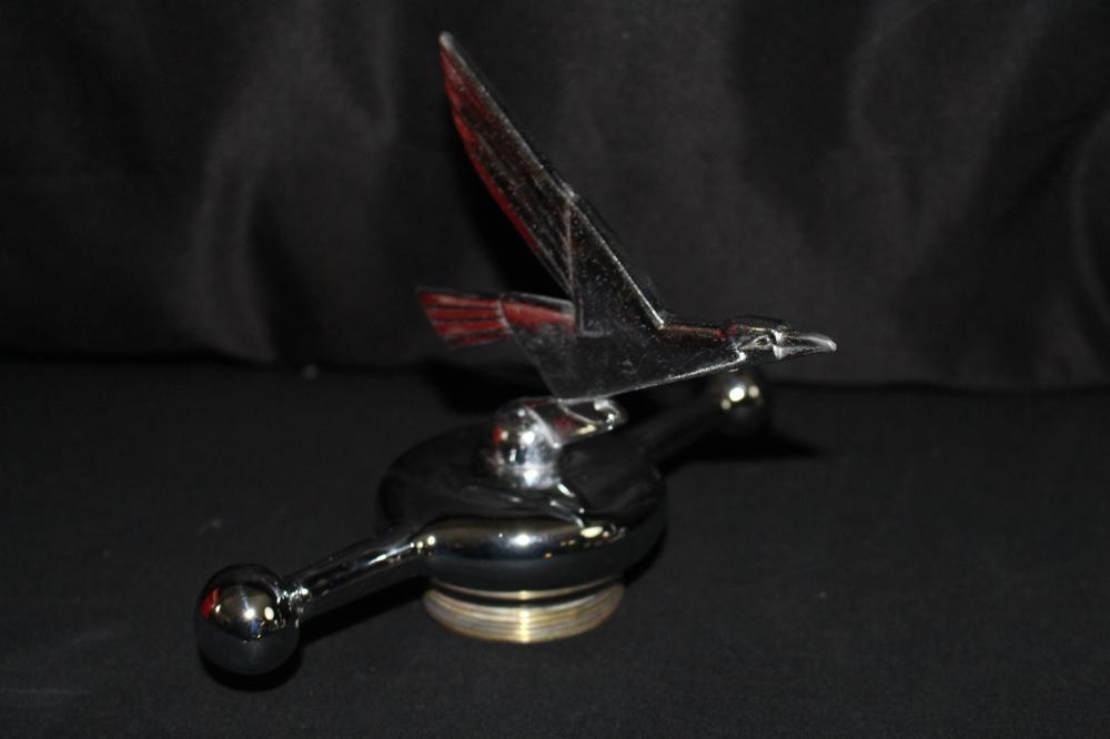 FLYING EAGLE HOOD ORNAMENT MASCOT RADIATOR CAP