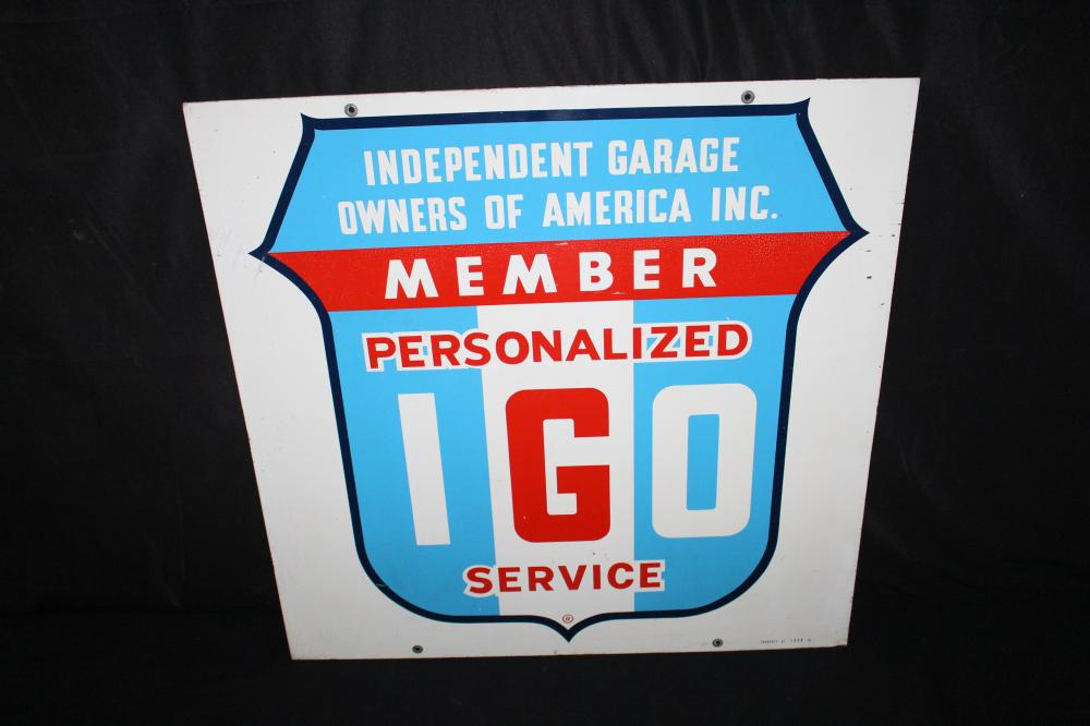 IGO INDEPENDENT GARAGE OWNERS 0F AMERICA SIGN