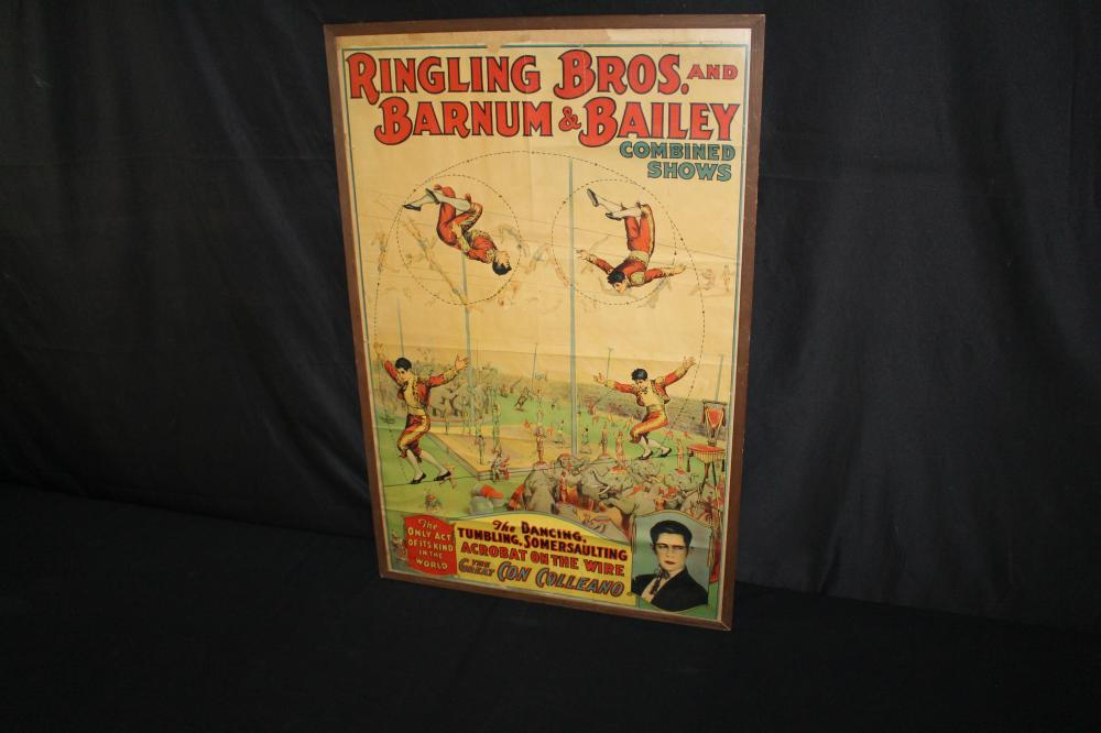 RINGLING BROS BARNUM BAILEY HIGHWIRE CIRCUS POSTER