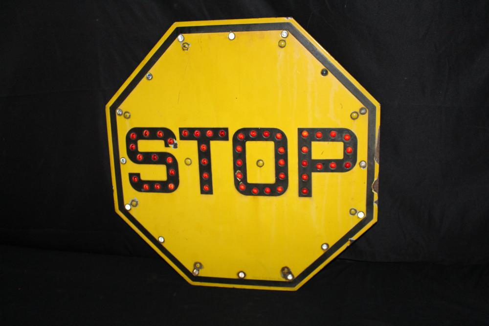 GRISWOLD SIGNAL RAILROAD CROSSING REFLECTOR SIGN