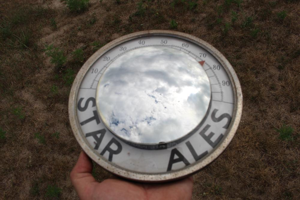 STAR BREWING CO STAR ALES BEER THERMOMETER BOSTON