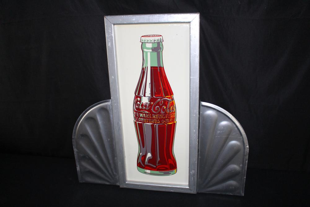COCA COLA BOTTLE SIGN WITH WINGS