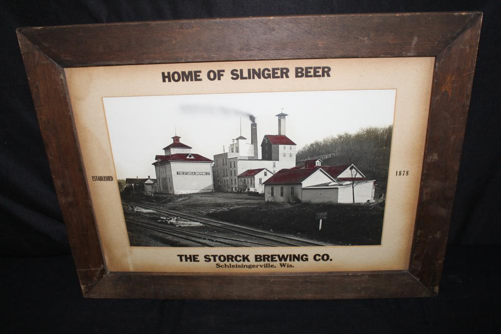 PRE PRO STORCK BREWING BREWERY PHOTO BEER SIGN