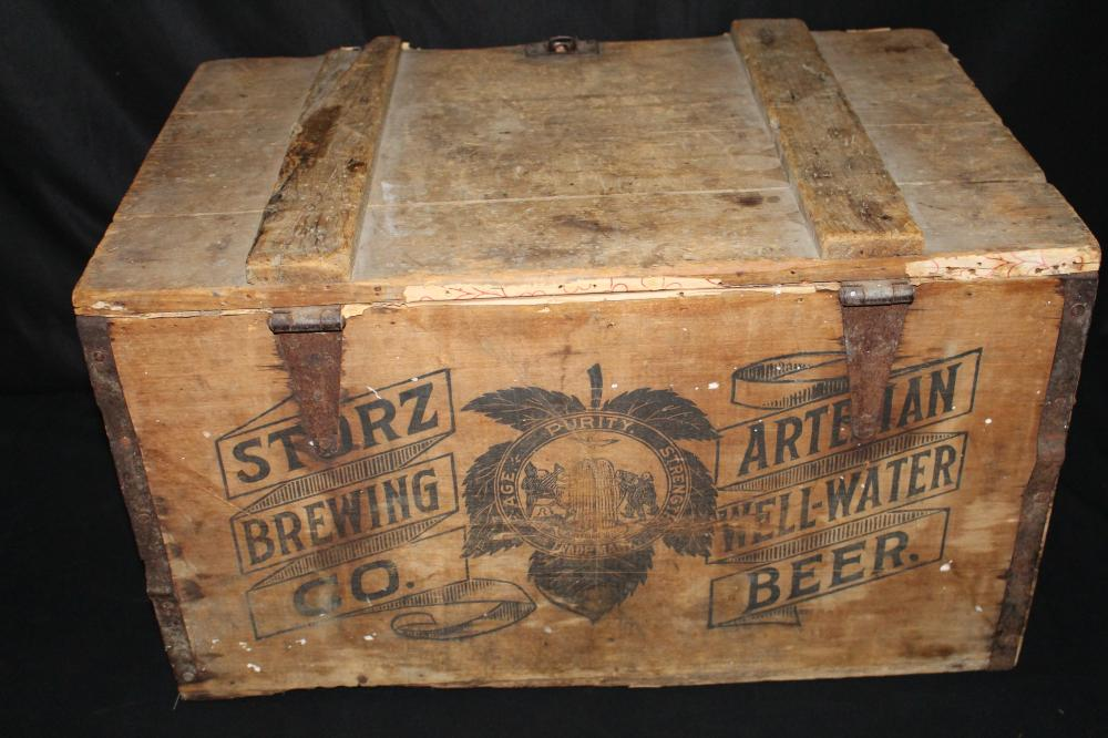 PREPRO STORZ BREWING ARTESIAN WELL BEER CASE CRATE