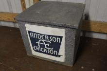 Anderson Erickson Dairy Des Moines Milk Bottle Box