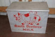 Smith Brothers Dairy Milk Bottle Delivery Box