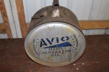 Avio Hand Separator 5 gal Rocker Oil Can