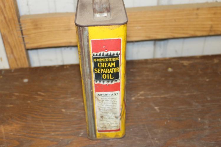 McCormick Deering Cream Separator Oil Can