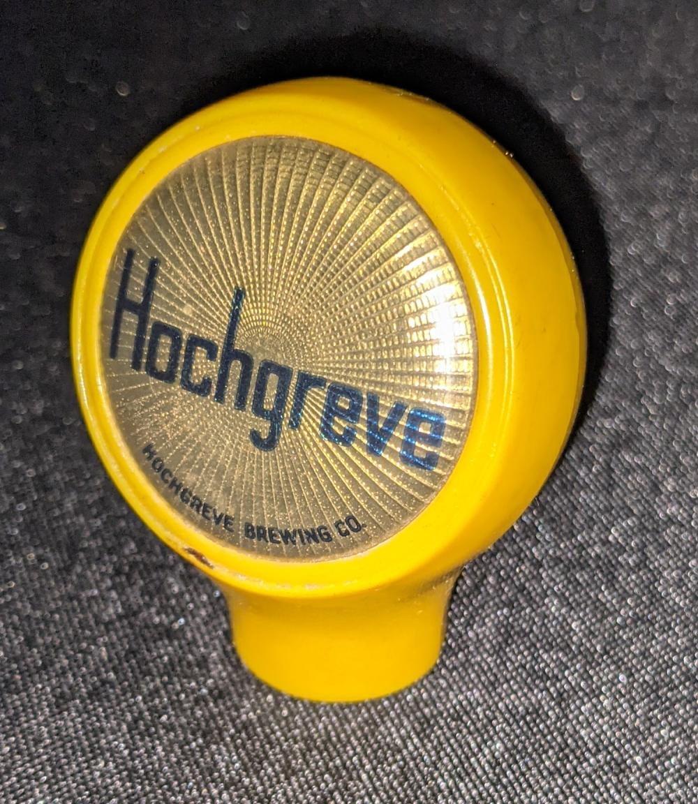 BALL BEER TAP KNOB HOCHGREVE BREWING GREEN BAY WI