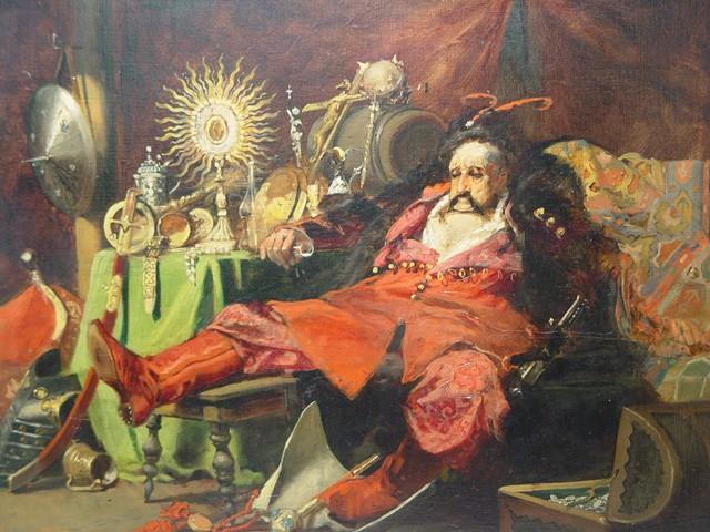 Jan Czeslaw Moniuszko Oil Painting