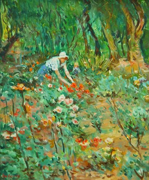 Max Agostini Flower Garden Oil