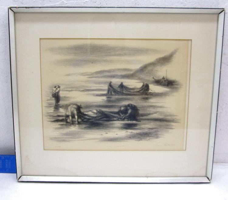Sea Gleaners - Signed by Lewis Rubenstein 63/250