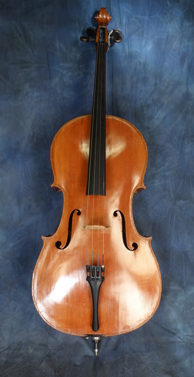 Music: Cello model after Stradivarius (Piatti) End 19C - beginning 20th