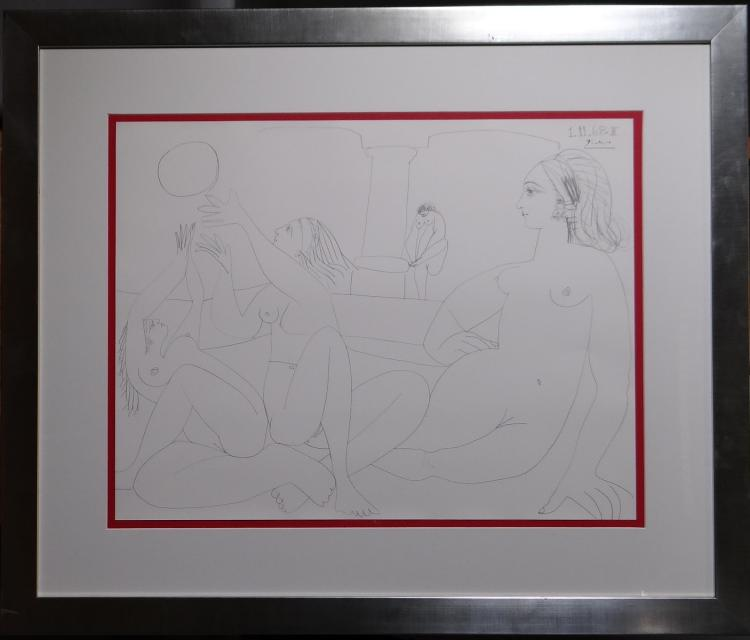 Engraving: Litho - Turkish - Pablo PICASSO