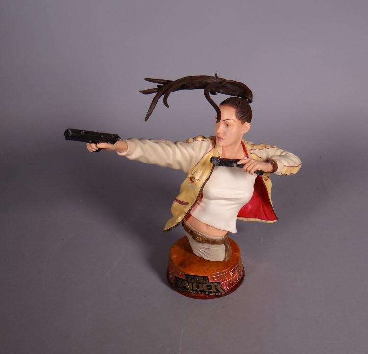 comics : Figurine Lara Croft figurine Microbust of Tomb Raider The cradle of life par Sota Toys