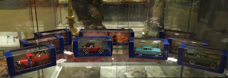 Toy Cars - Tintin drive - Editions Atlas in their box (9pces)