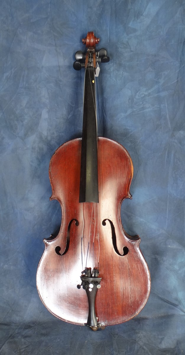 Music: child cello late 19C