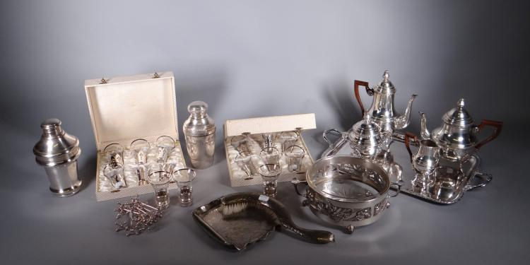 Silverware: silver metal Lot