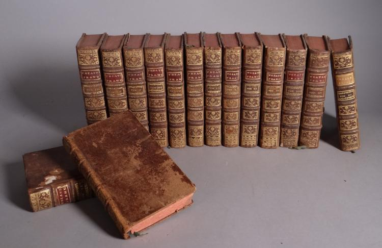 Book (15): - History of the Theatre Francois in french- 15 Volumes 1745-1749