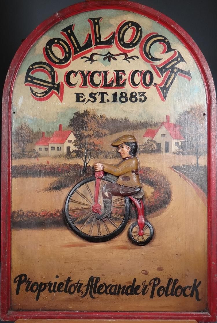 Collection: painted panel - Pollock - cycleco Proprietor Alexander Pollock