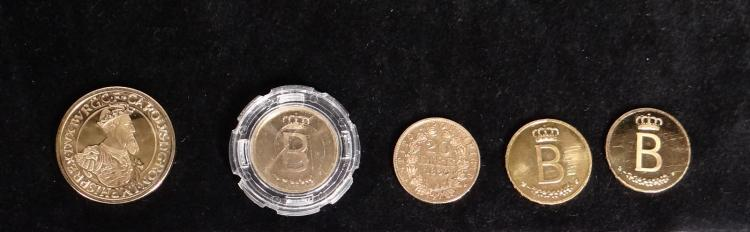 Collection coins: 5 gold