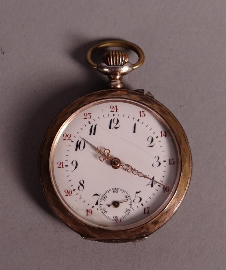 Clocks: Pocket watch chronometer