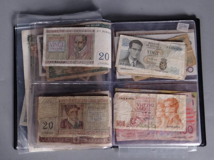 Collection: Banknotes in album