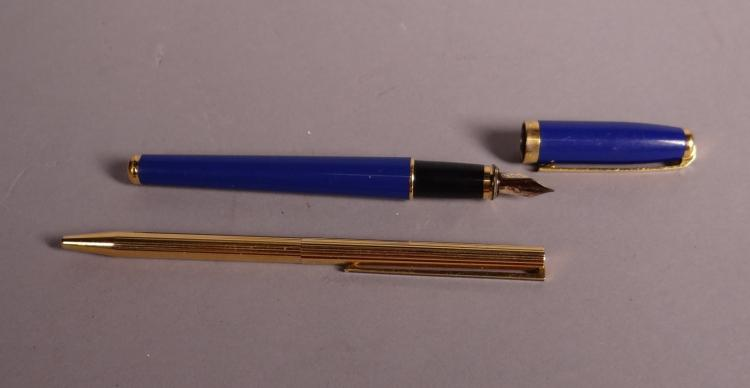 Jewelry: Dupont pen and ballpoint Dupont