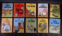 BD: The Adventures of Tintin (10)