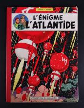 BD: Blake and Mortimer The Enigma of Atlantis 1957 4th Flat Green Checkers