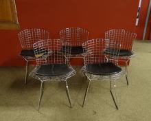 furniture : Vintage chairs BERTOIA Harry