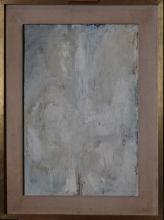 painting oil on panel - Composition - signed MINNAERT Frans