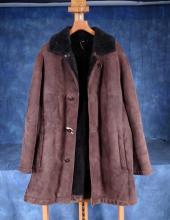 Fashion: 3/4 man jacket in sheep returned