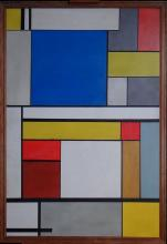 painting oil on panel - Composition - in the style of GORIN Jean A. anonimous 20th C