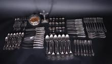 Silverware : Cutlery set in silver-plated included SOLINGEN + Christ on the cross