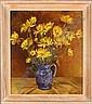 GILLIS M. - Tableau HST -Bouquet de fleurs dans un, Marcel Gillis, Click for value