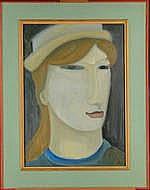 VANDENBOSCH G. - Tableau HST -Le Petit Chapeau-