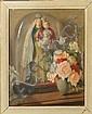 REGNART V. - Tableau HST -Vierge à l'enfant sous, Victor Regnart, Click for value