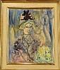 LAVILLE H. - Tableau HST -Portrait de jeune femme-, Henri Laville, Click for value