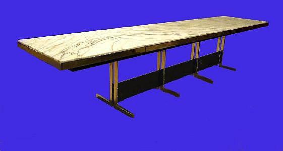 BOULMANT G. - Importante table de conférence