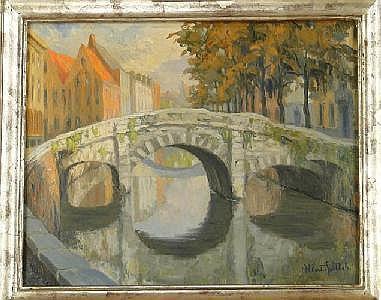 GOETHALS A. - Tableau HST (acc) -Pont de Bruges-