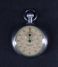 Watchmacking: Pocket watch chronometer Hanhart 3 Steine