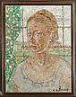 BLOMME A. - Tableau HSP -Portrait de femme- signé, Alfons (1889) Blomme, Click for value