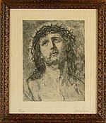 CARION M. - Eau-Forte -Tête de Christ- Nø13/50