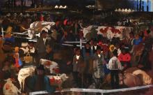 Vilmos Aba-Novak, 1894-1941, Cattle Market, 1934