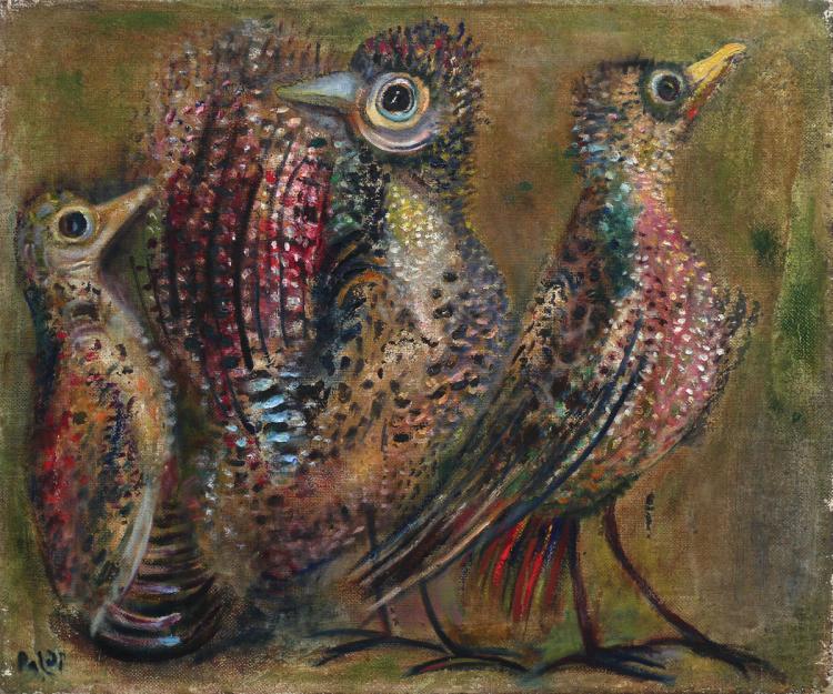 Israel Paldi, 1892-1979, Birds