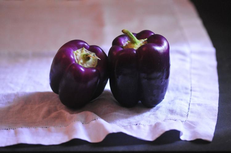 Osnat Ben Dov, b. 1968, Purple Peppers , 2015