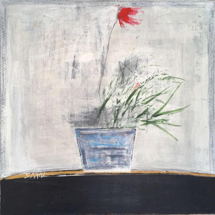 Salah Alkara, b. 1955, Plant