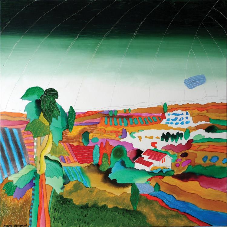 Oded Feingersh, b. 1938, Jezreel Valley