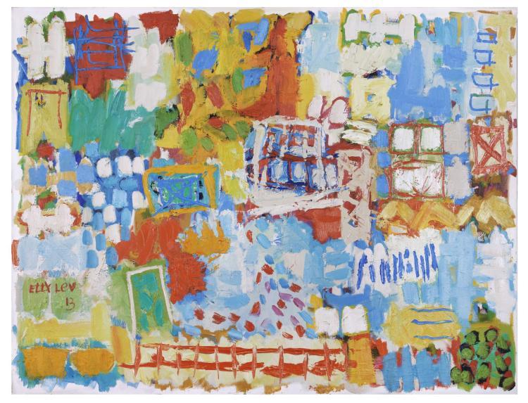 Etty Lev, b. 1941, Untitled, 2013